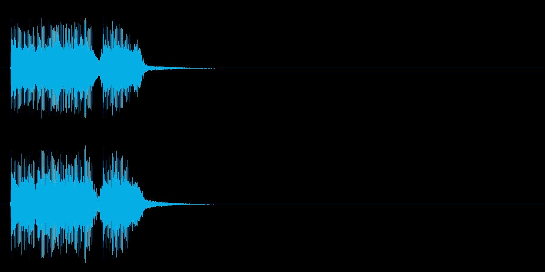 ジングル/アタック(ロック/ハード)の再生済みの波形