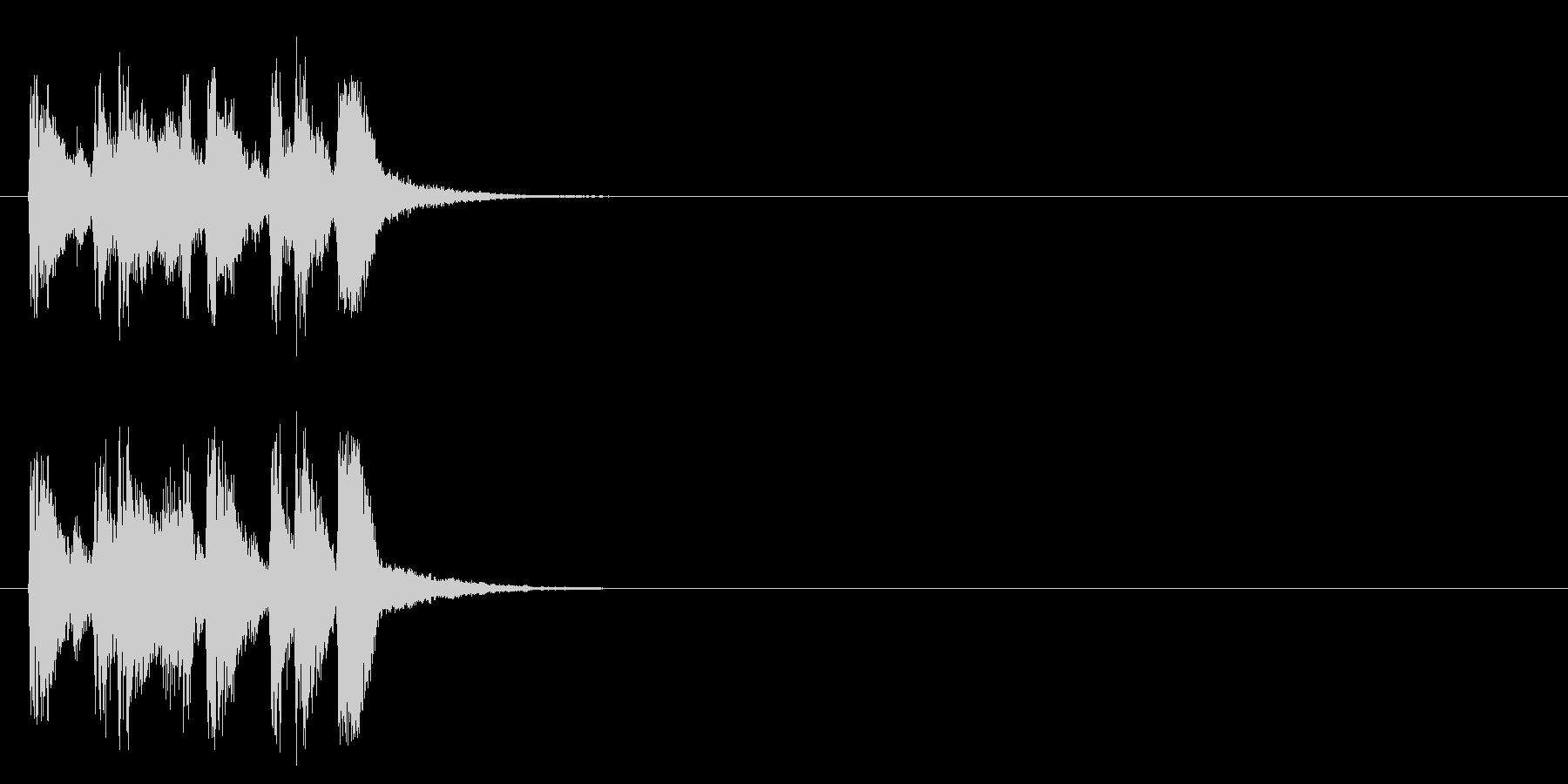 ジングル/アタック(ポップ/ラテン)の未再生の波形