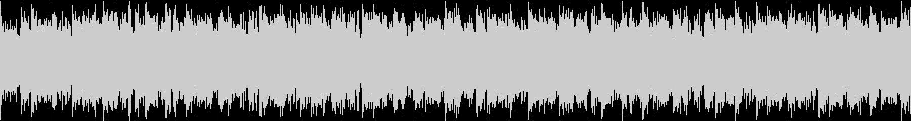 変拍子でミステリアスなホラーBGMループの未再生の波形