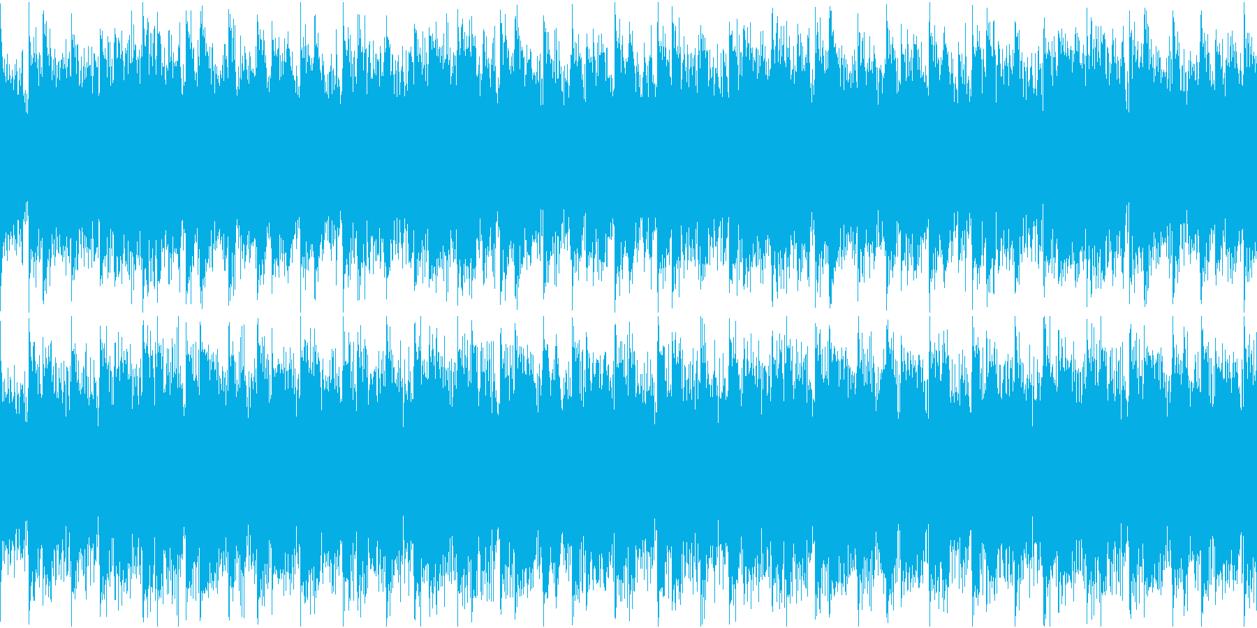 変拍子でミステリアスなホラーBGMループの再生済みの波形