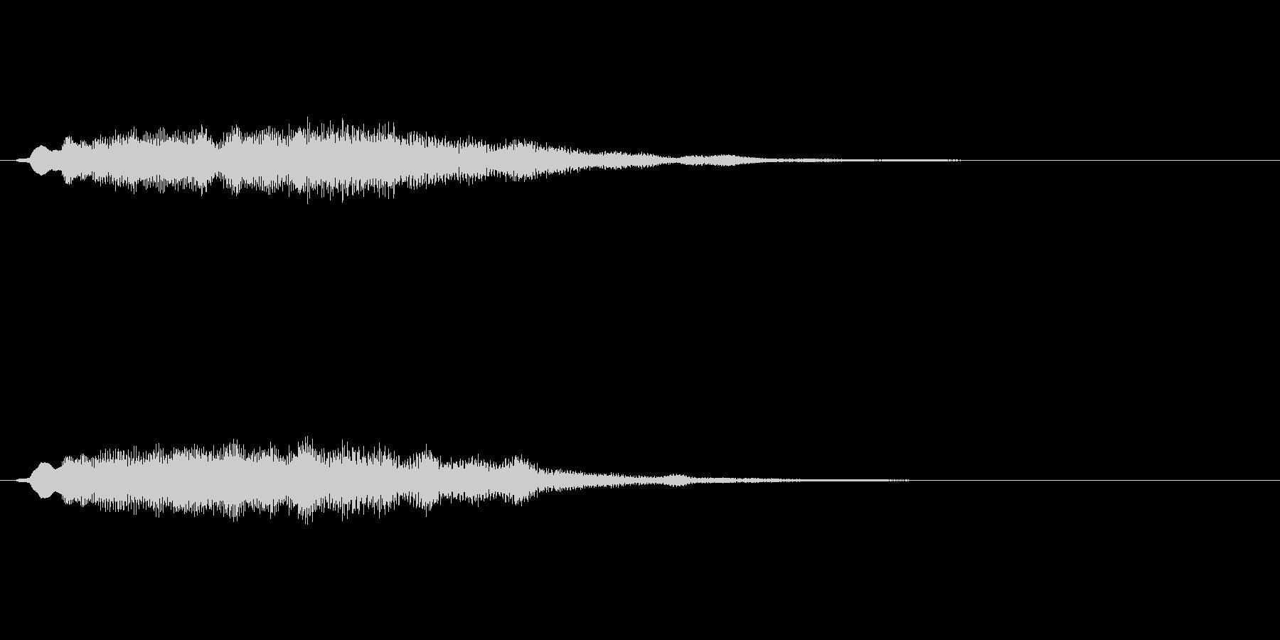 【ショートブリッジ27-06】の未再生の波形