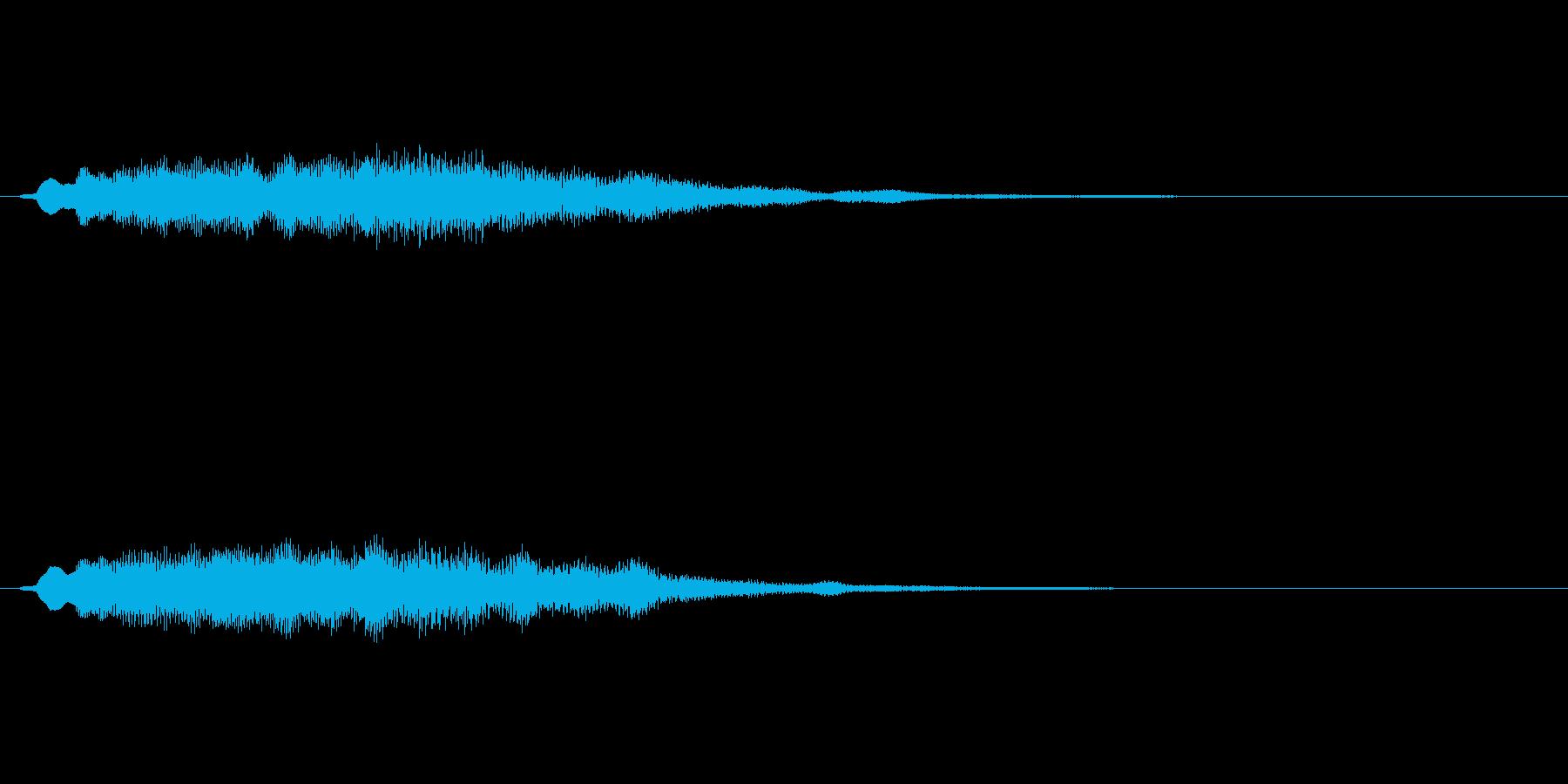 【ショートブリッジ27-06】の再生済みの波形
