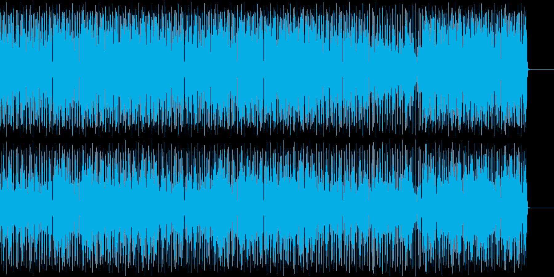 グルービーなビートのギター・インストの再生済みの波形