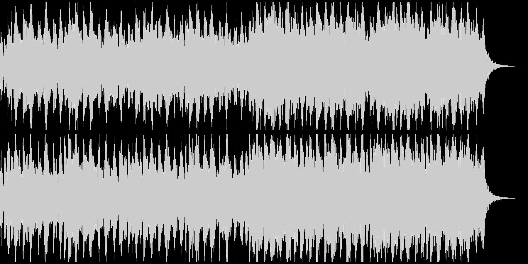 ハロウィン、ホラー、ダーク系メロディーの未再生の波形