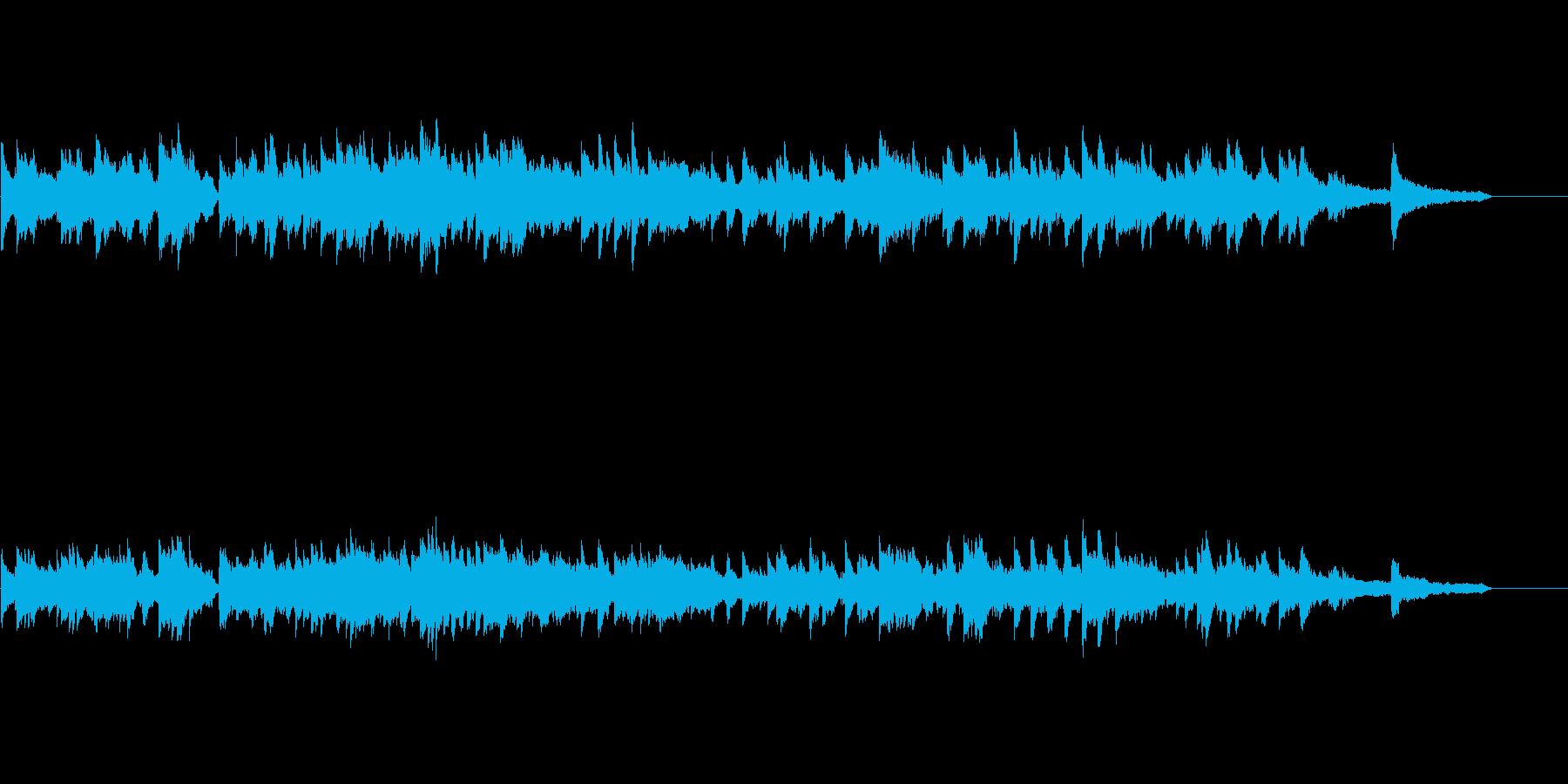 重厚な和音が響く切ないピアノバラードの再生済みの波形
