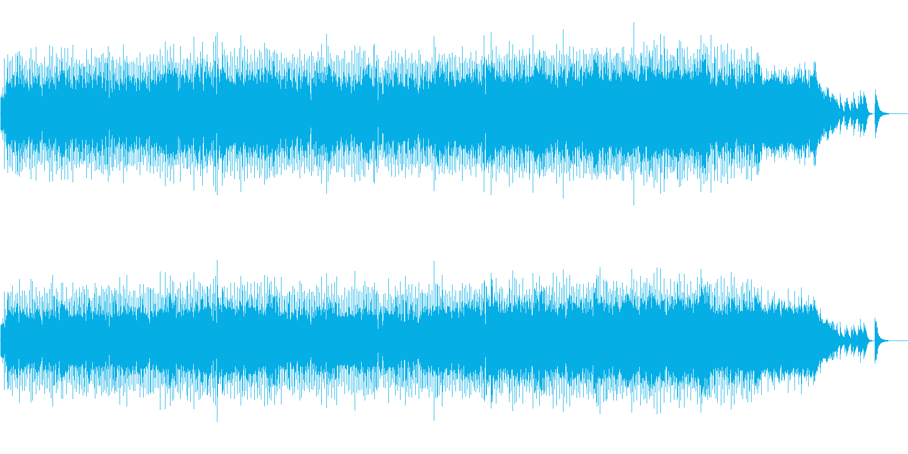 さわやかに盛り上がるミディアム・ポップスの再生済みの波形