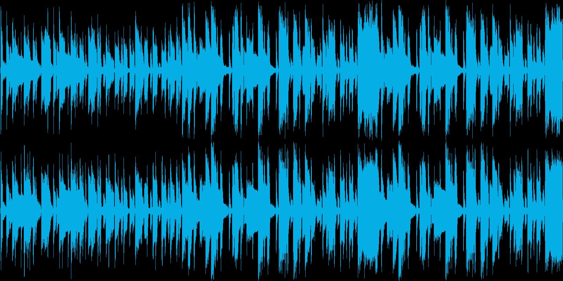 【軽快なEDM/シンセ/ポップス】の再生済みの波形