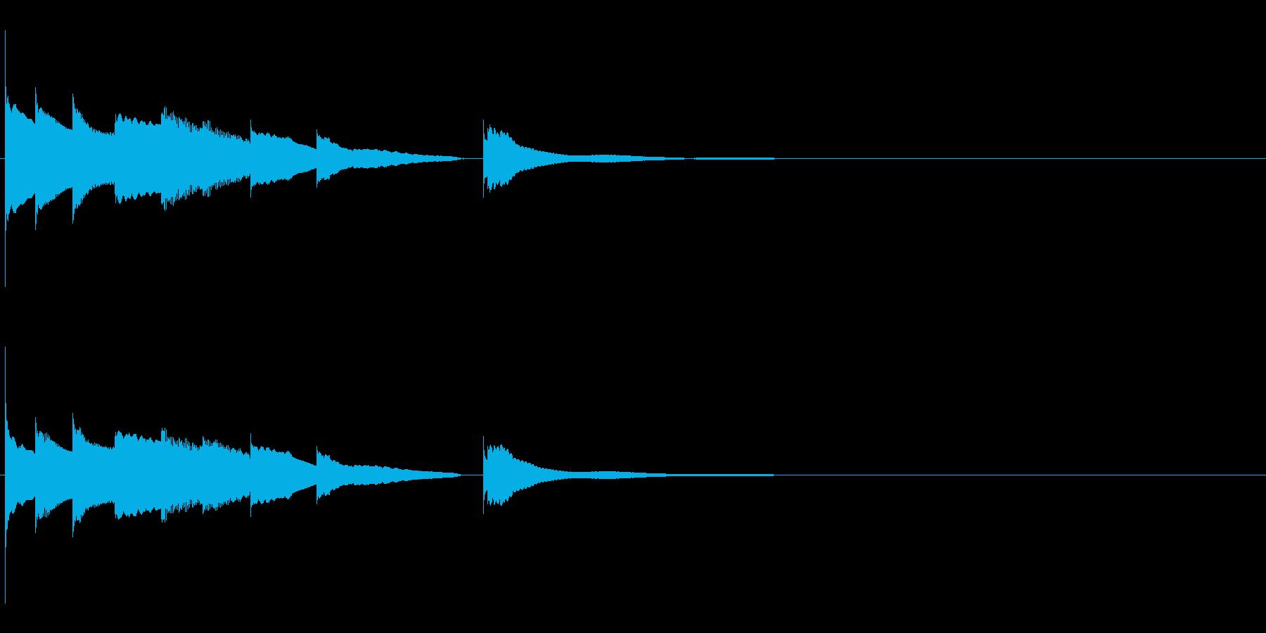 エンディング E.ピアノソロ  の再生済みの波形