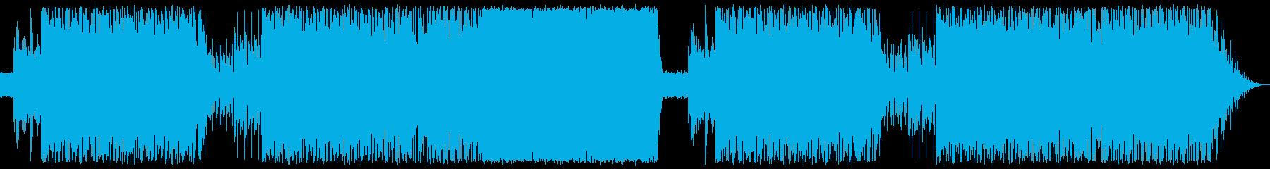 ピアノをメインにしたラテンナンバーの再生済みの波形