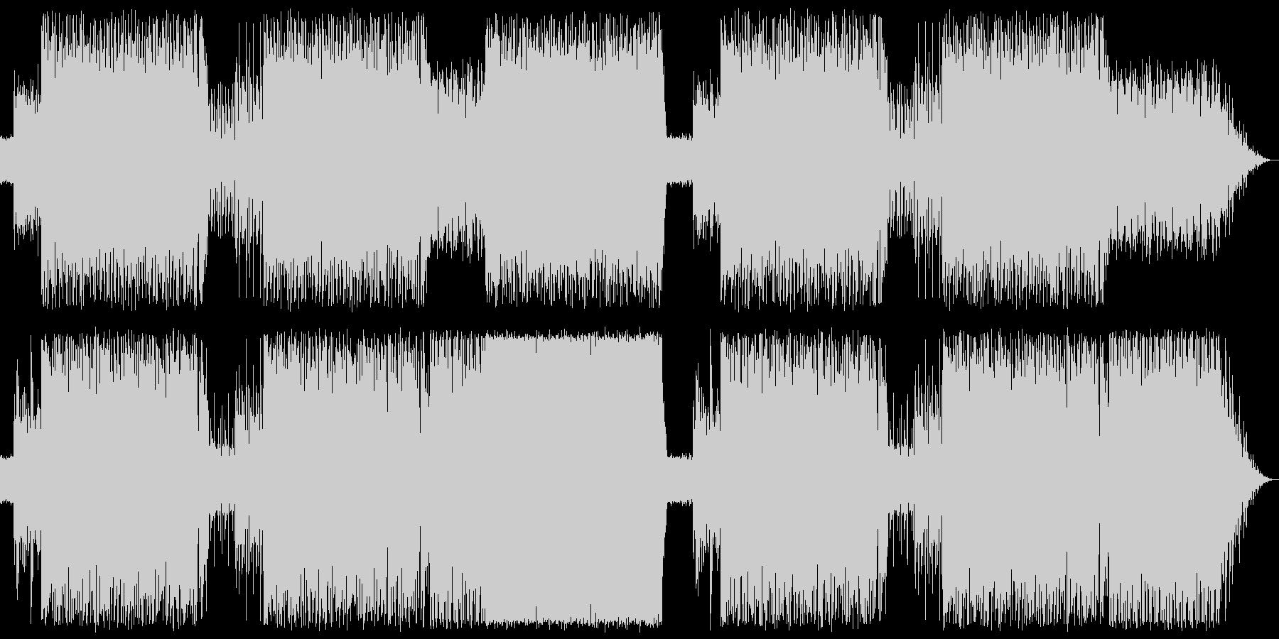 ピアノをメインにしたラテンナンバーの未再生の波形