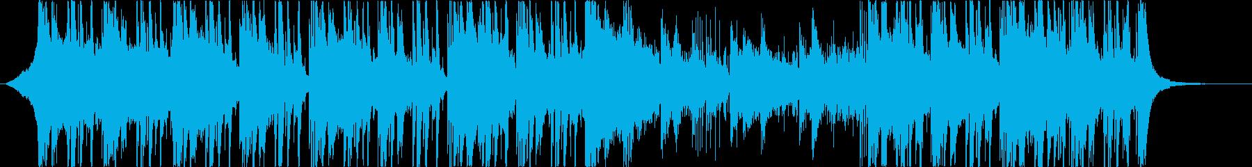爽やかで透明感のあるエレクトロポップの再生済みの波形