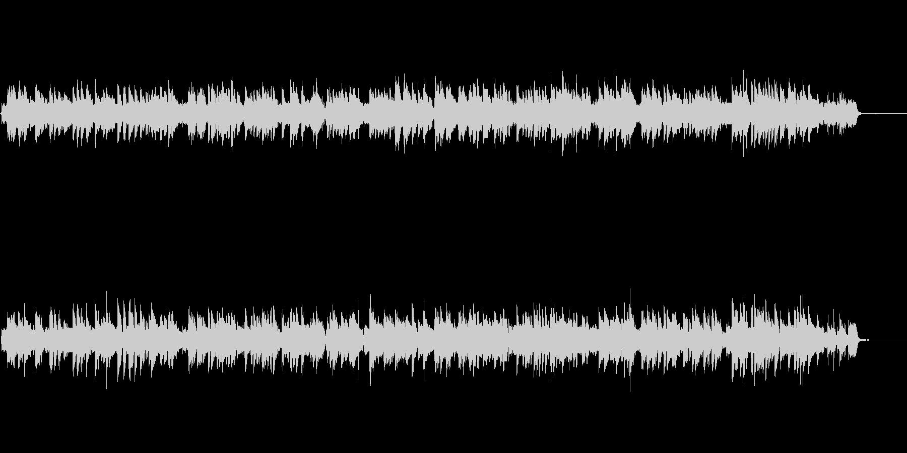 ピアノ・ジャズバラード・オープニングの未再生の波形