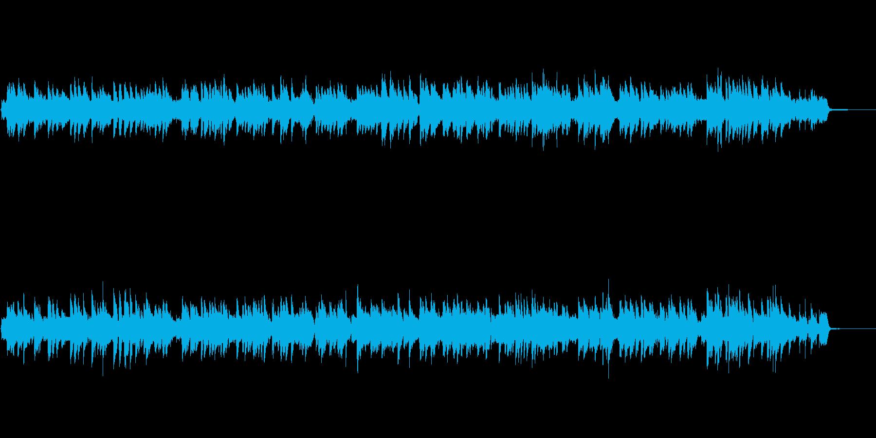 ピアノ・ジャズバラード・オープニングの再生済みの波形