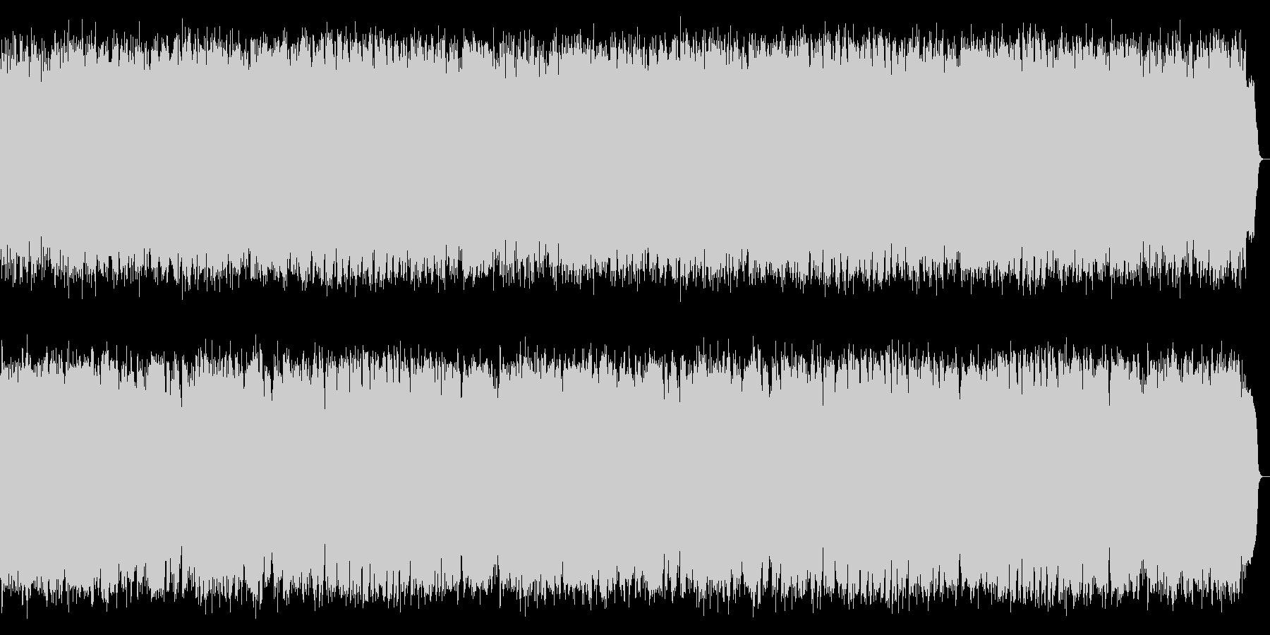 トロンボーンが奏でる古風な哀愁歌謡の未再生の波形
