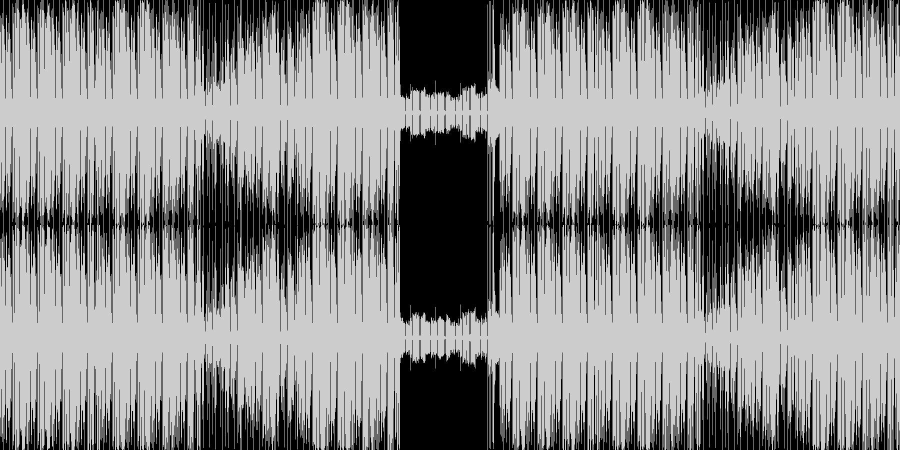 【日常系BGMエレクトロニカ・ファンク】の未再生の波形