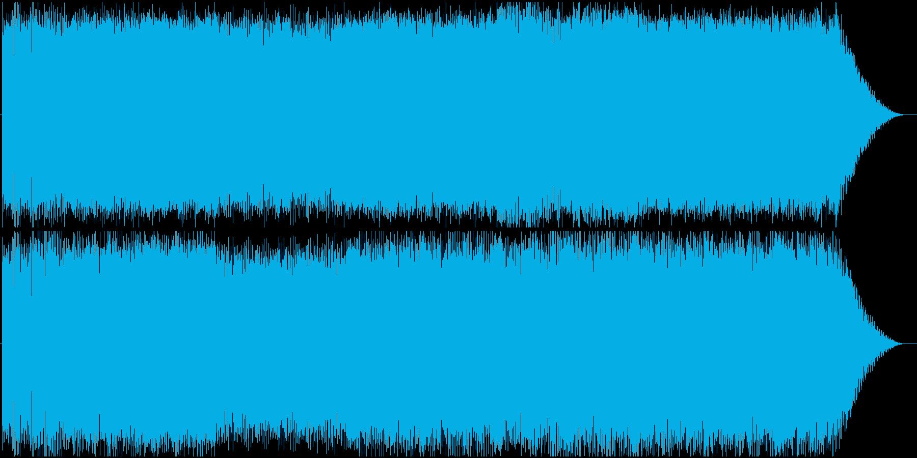 キャッチーで躍動感のあるエレクトロニカの再生済みの波形