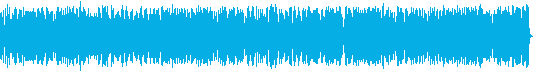 爽快なフュージョン(フルサイズ)の再生済みの波形