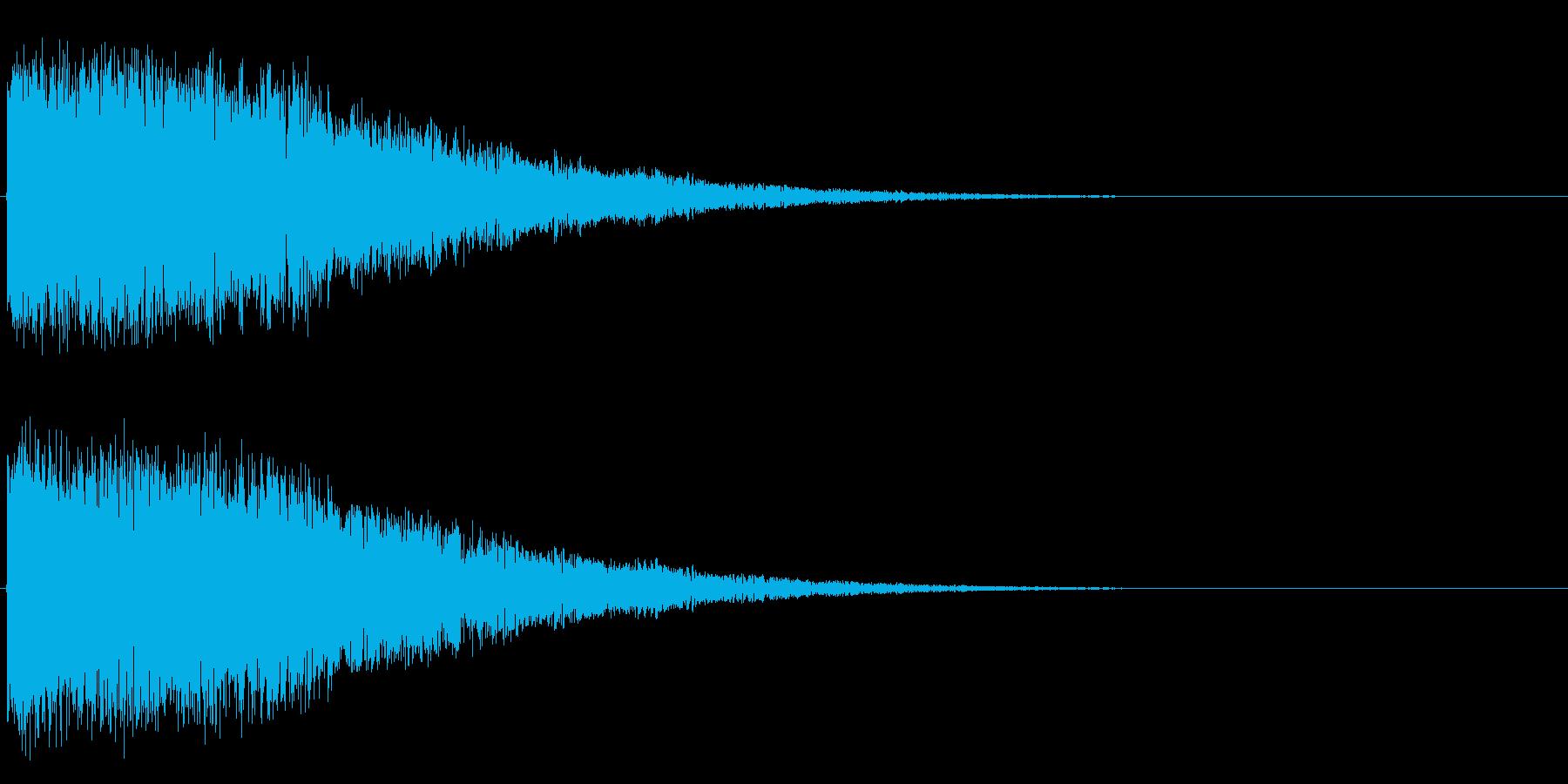 ロボット、SF、効果音、アイキャッチ、…の再生済みの波形