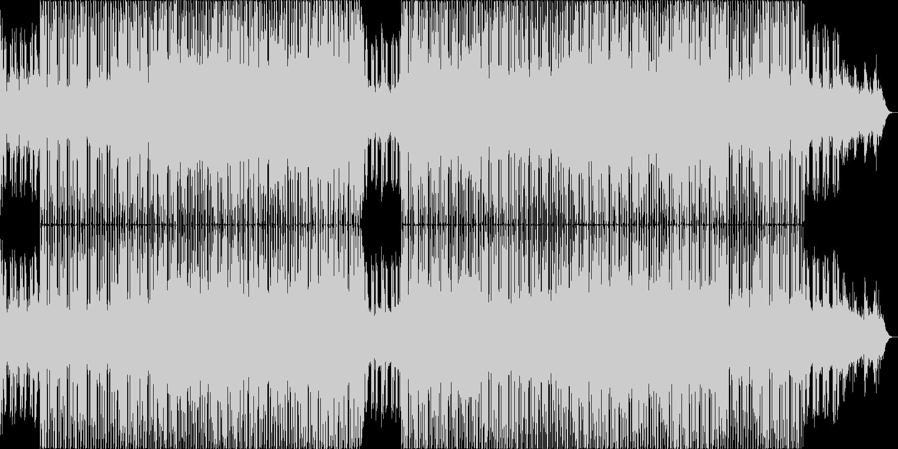 浮遊感の強いチルアウトミュージック。の未再生の波形