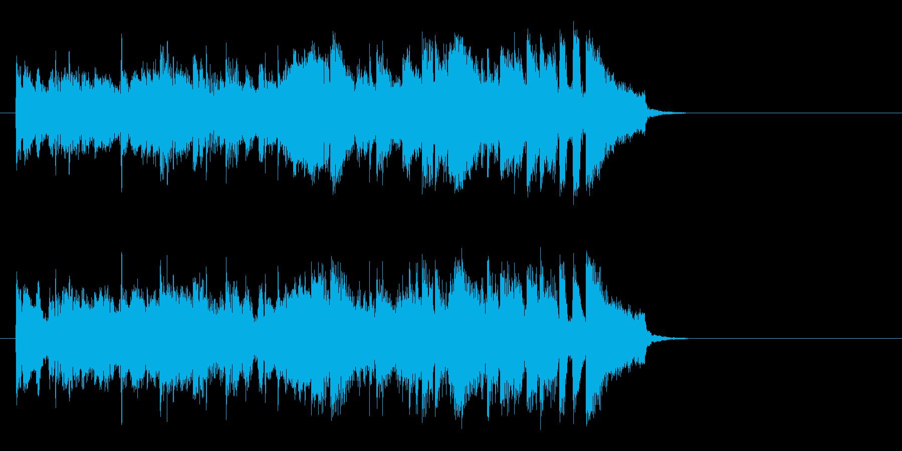 フュージョンバラード(イントロ)の再生済みの波形