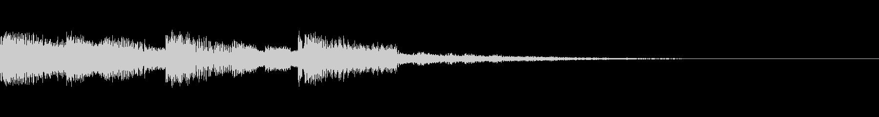 【ロゴ、ジングル】EDM03の未再生の波形