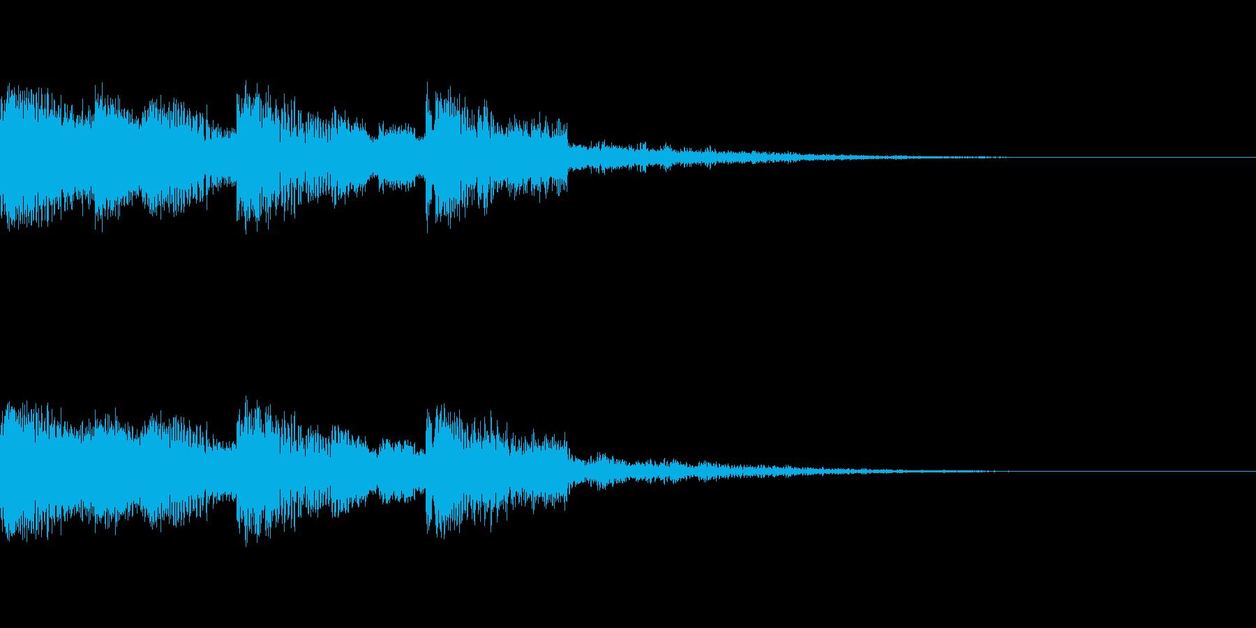 【ロゴ、ジングル】EDM03の再生済みの波形