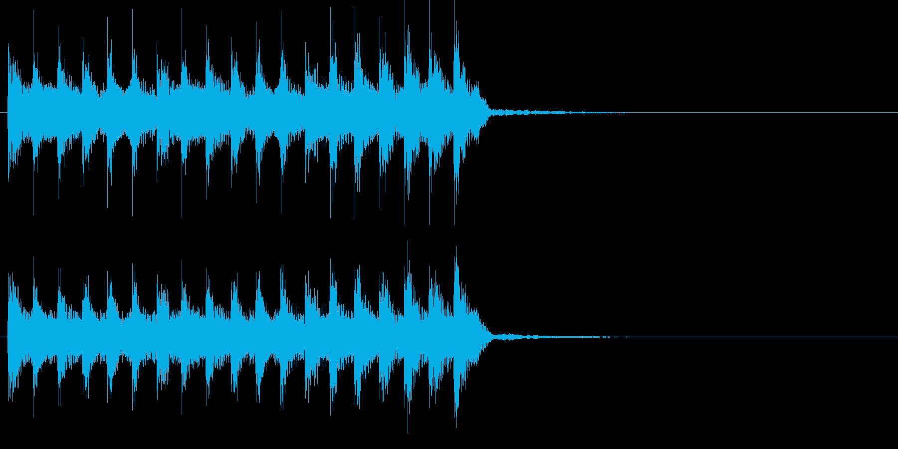 尺八などの和楽器によるほのぼの和風ポップの再生済みの波形