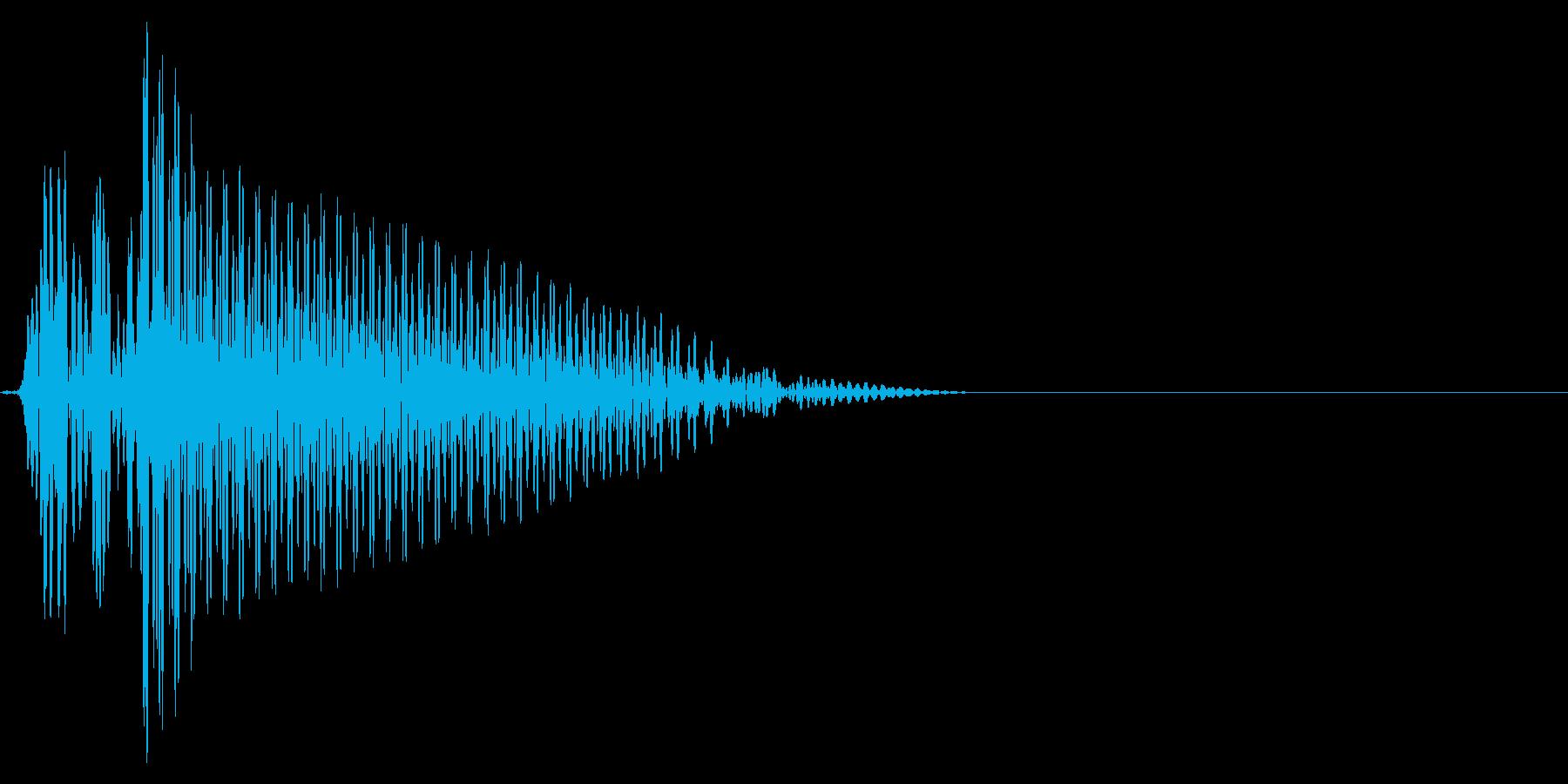 ゲーム掛け声ゾンビ1オー4の再生済みの波形