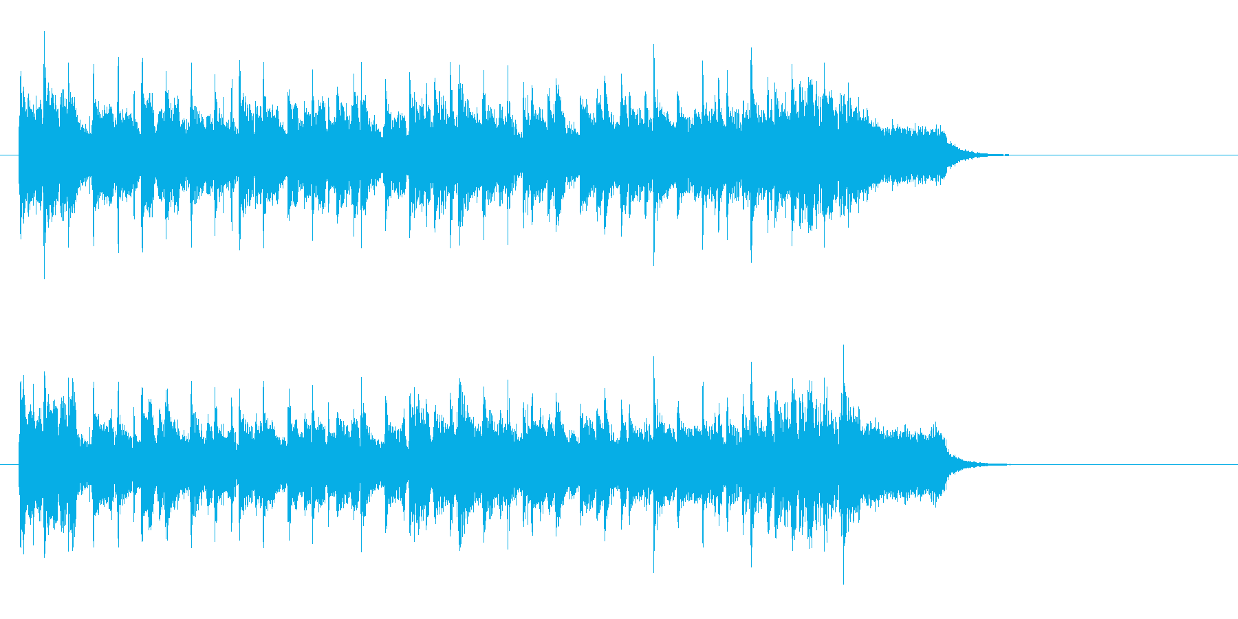 コミカル・タッチ 浮遊感ポップスの再生済みの波形