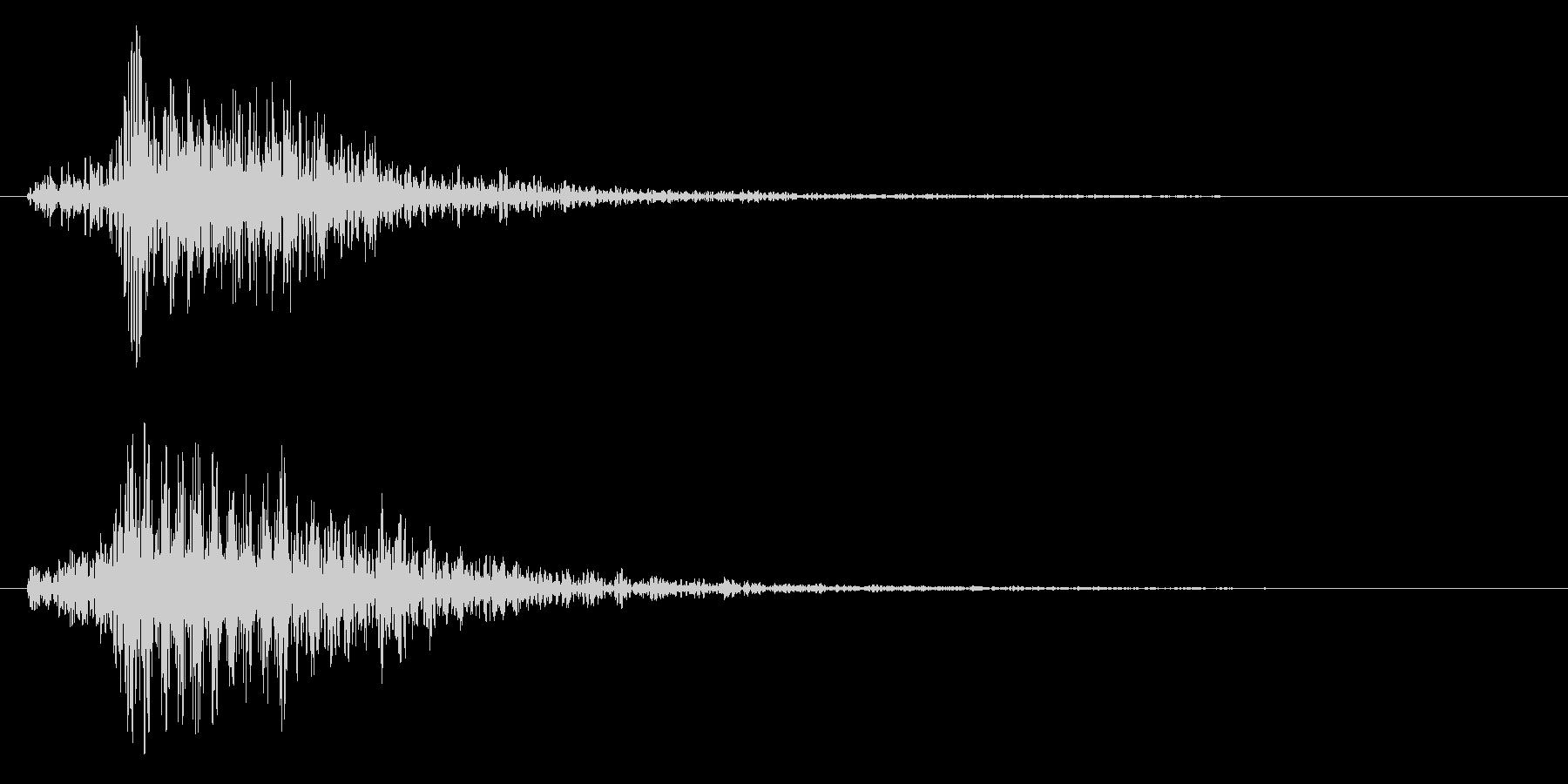 ブォーン(ビーム系)の未再生の波形