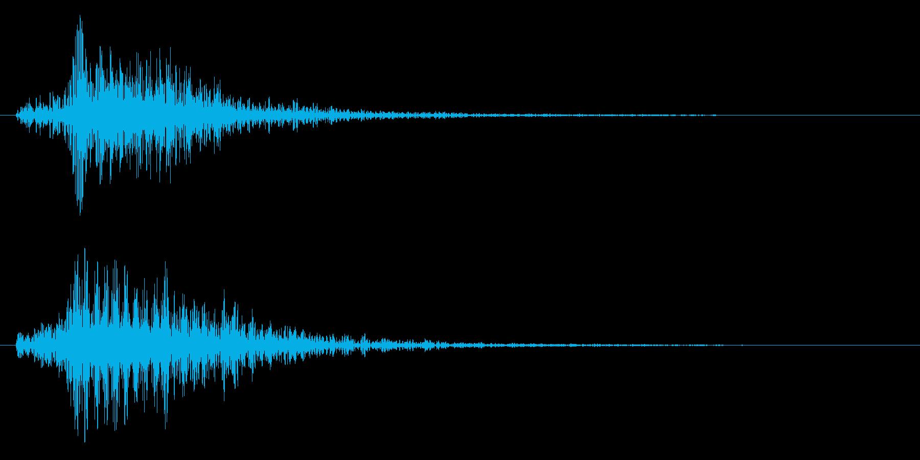 ブォーン(ビーム系)の再生済みの波形