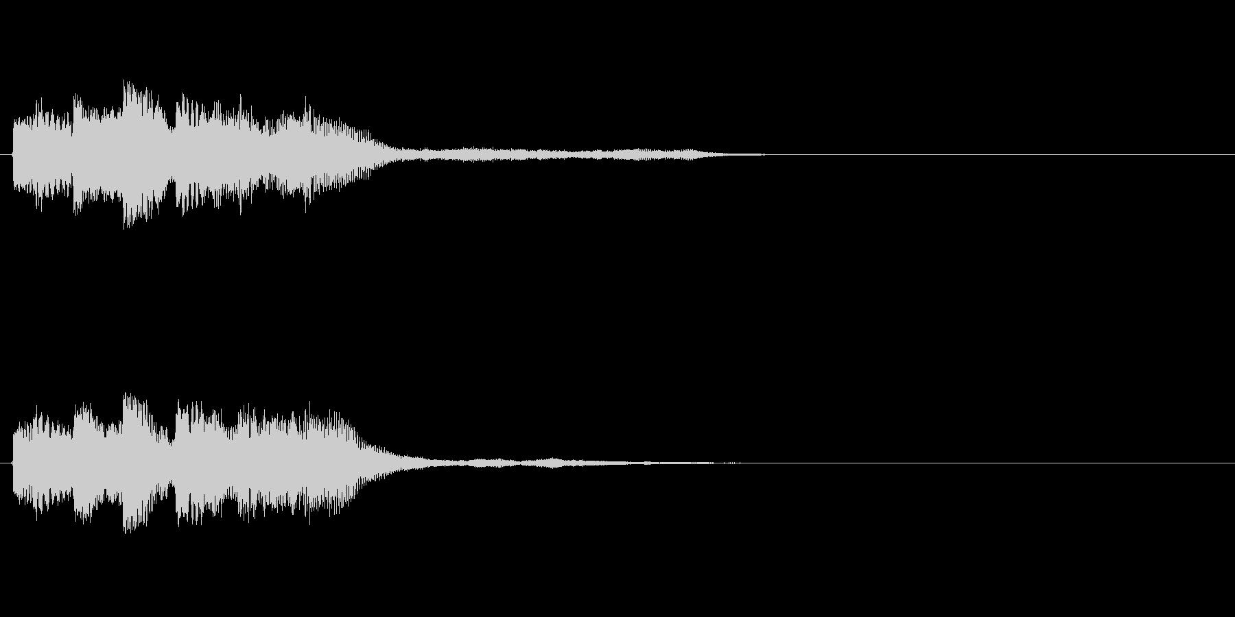 【ショートブリッジ09-2】の未再生の波形