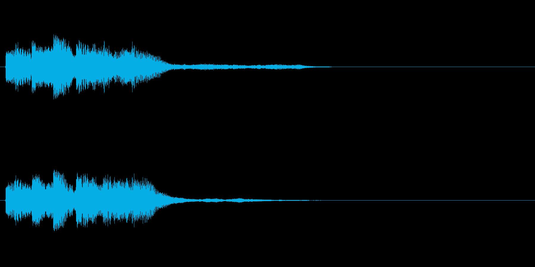 【ショートブリッジ09-2】の再生済みの波形