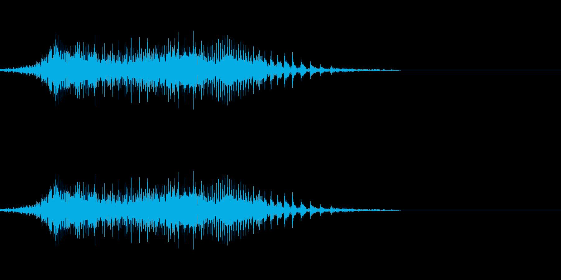 てぇい!2の再生済みの波形