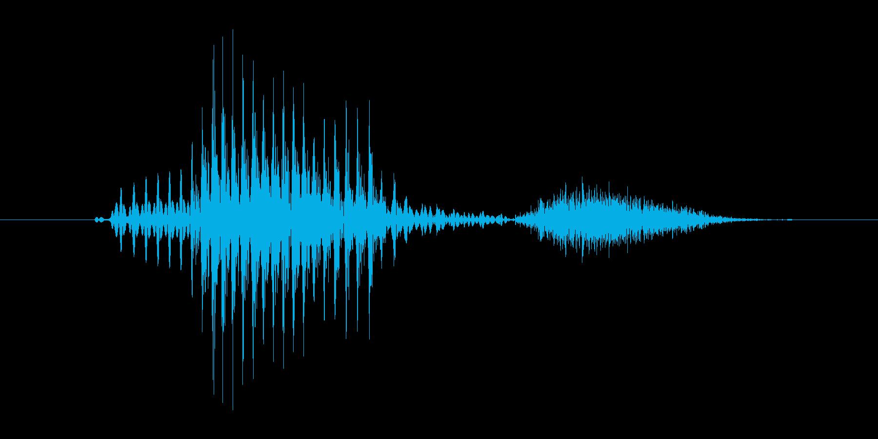 「9th/ninth」英語の再生済みの波形