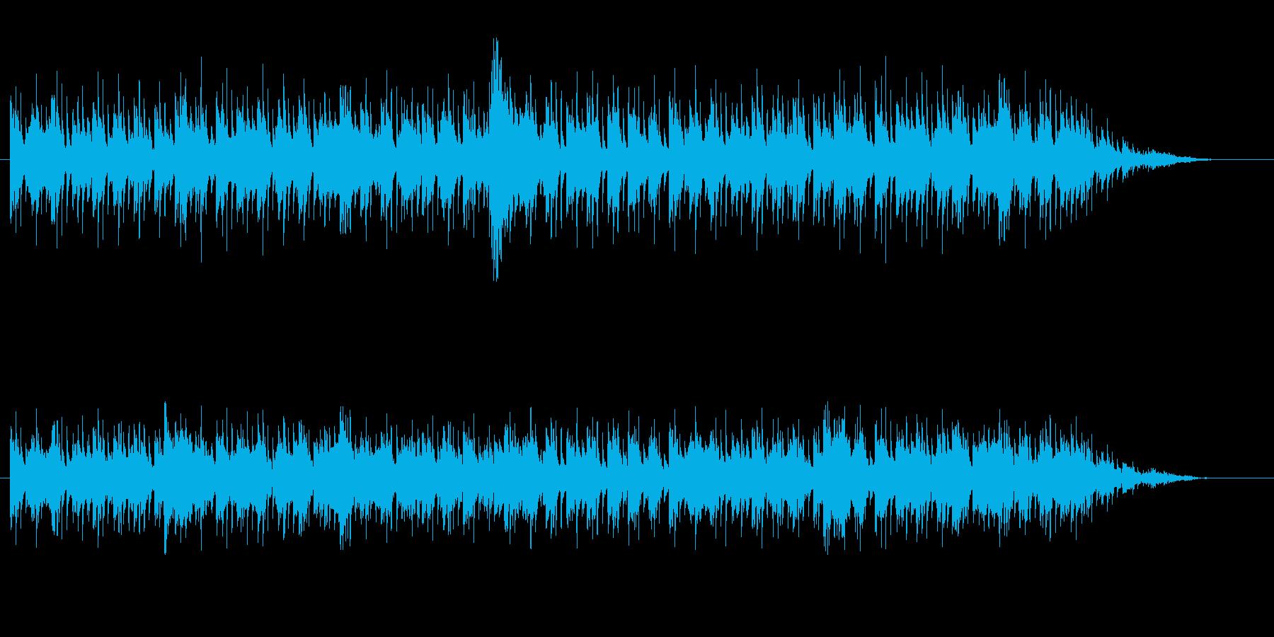怪しいエレクトロニカの再生済みの波形