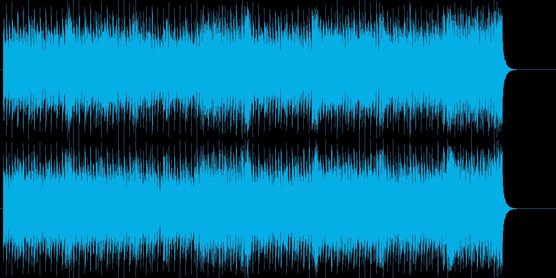 ドライブするハードロックの再生済みの波形