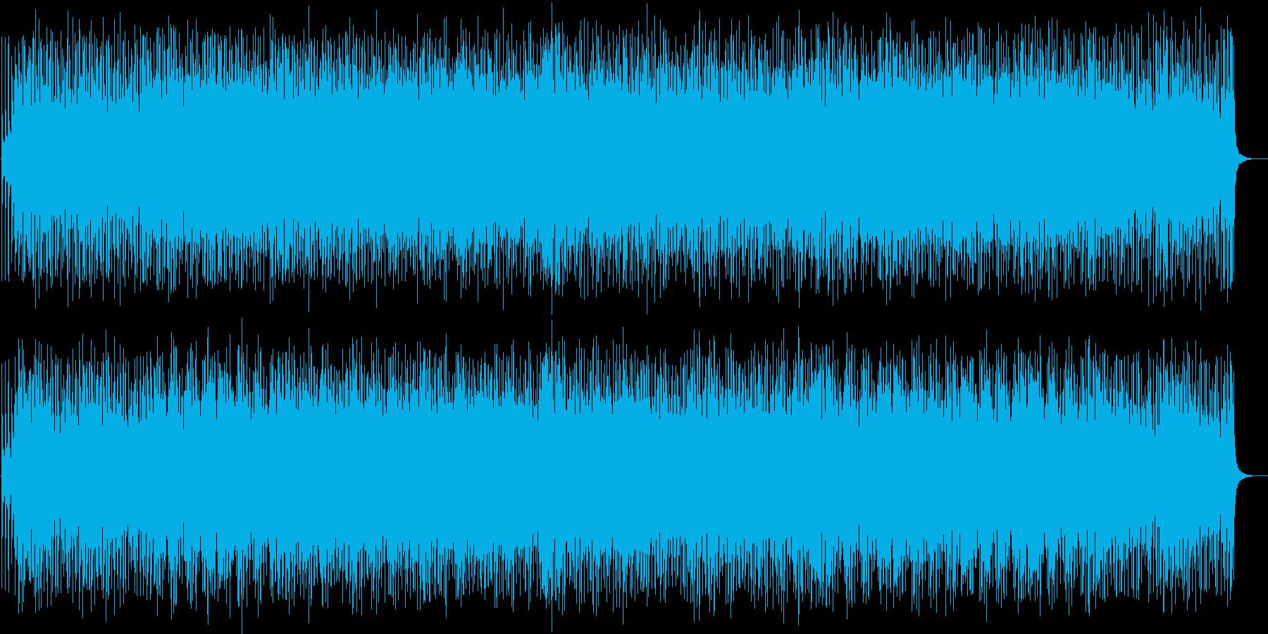 和風ストリングスと疾走感のあるドラムの再生済みの波形