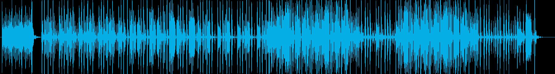 コメディアン(芸人)の登場の再生済みの波形