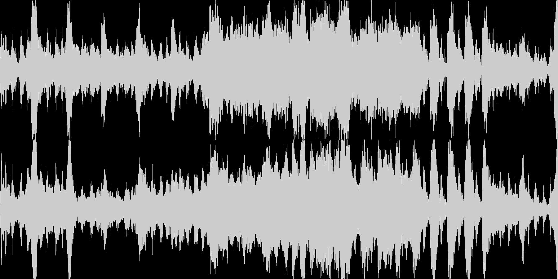 RPGメインタイトル風オーケストラの未再生の波形