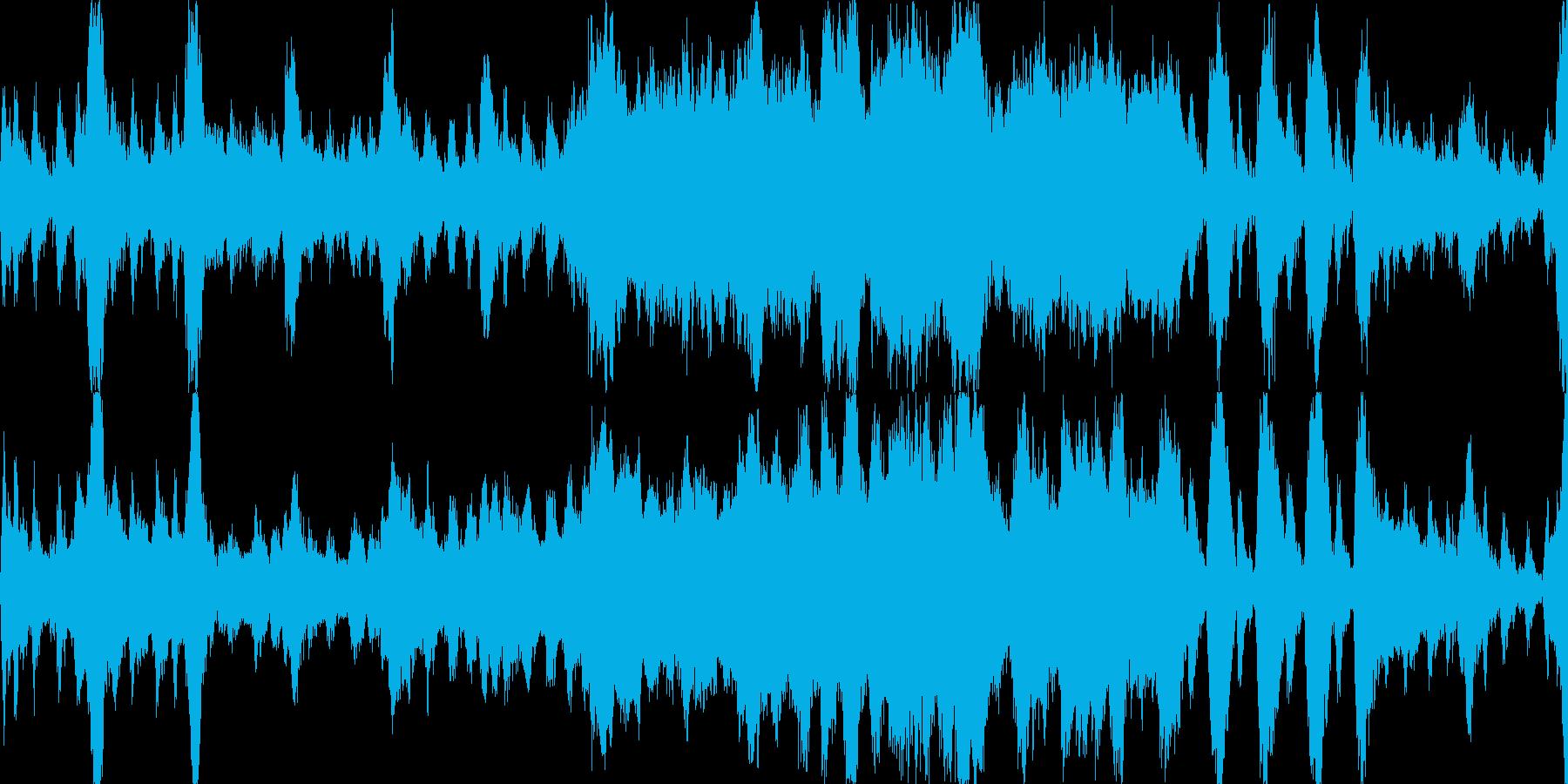 RPGメインタイトル風オーケストラの再生済みの波形