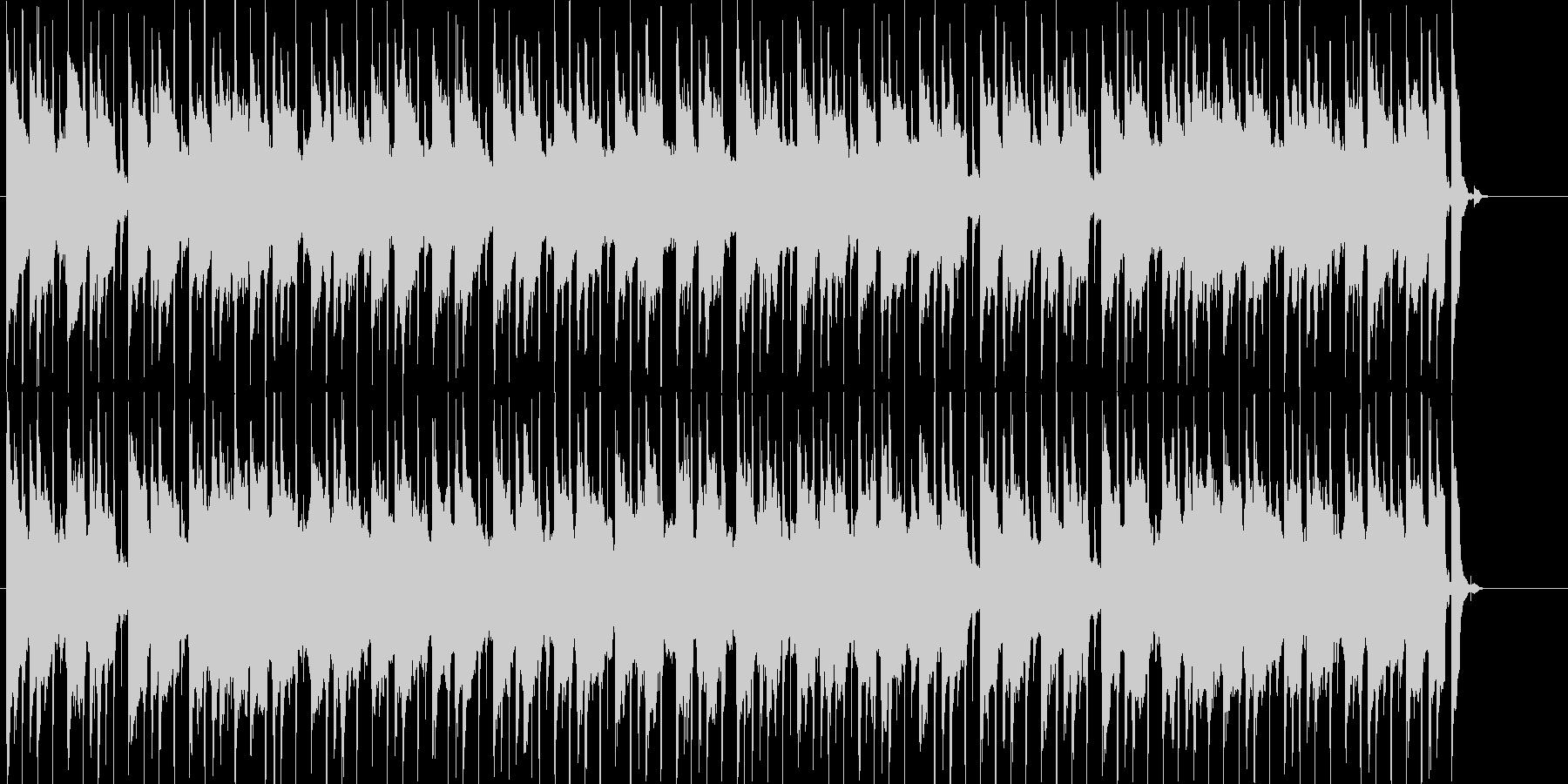 ゲーム等に使える日常系まったりBGMの未再生の波形