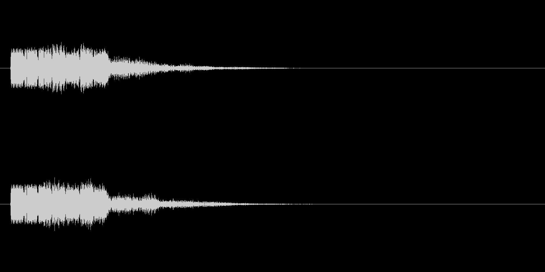 ピョコテコの未再生の波形