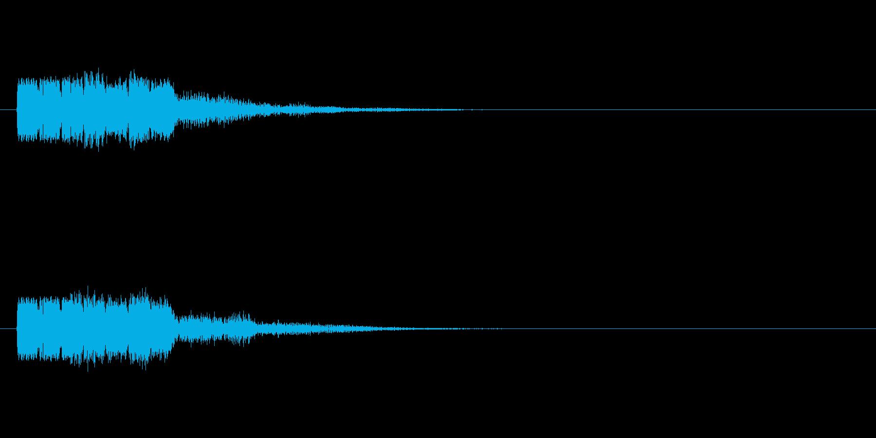 ピョコテコの再生済みの波形