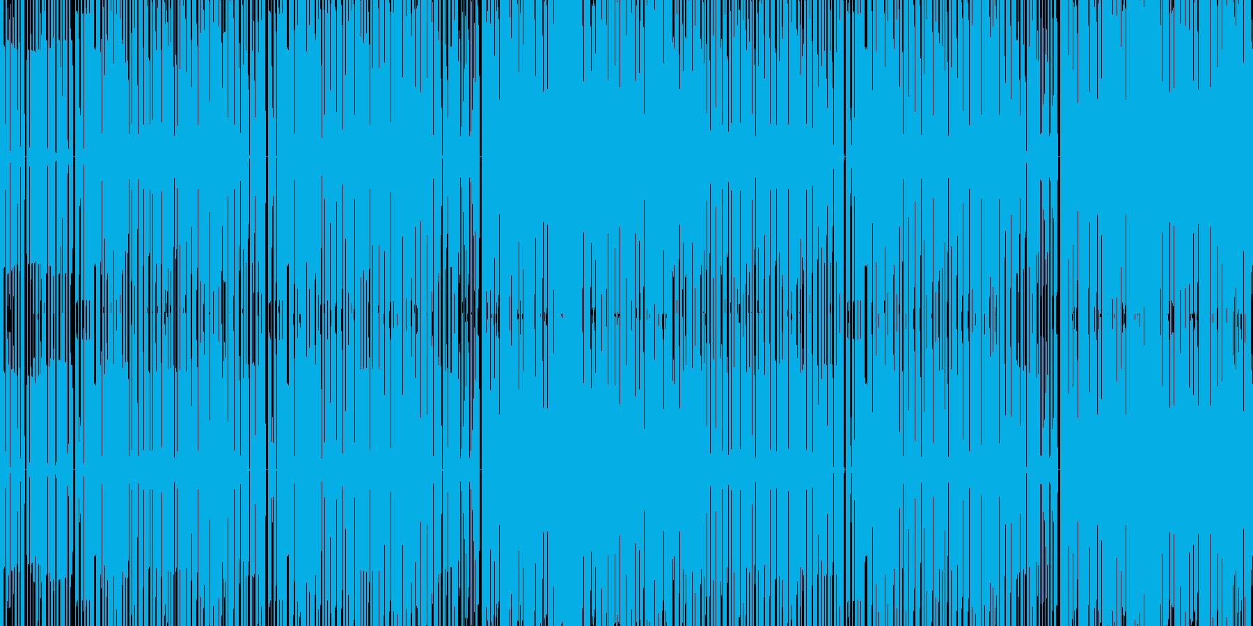 わくわくするチップチューン バラエティーの再生済みの波形