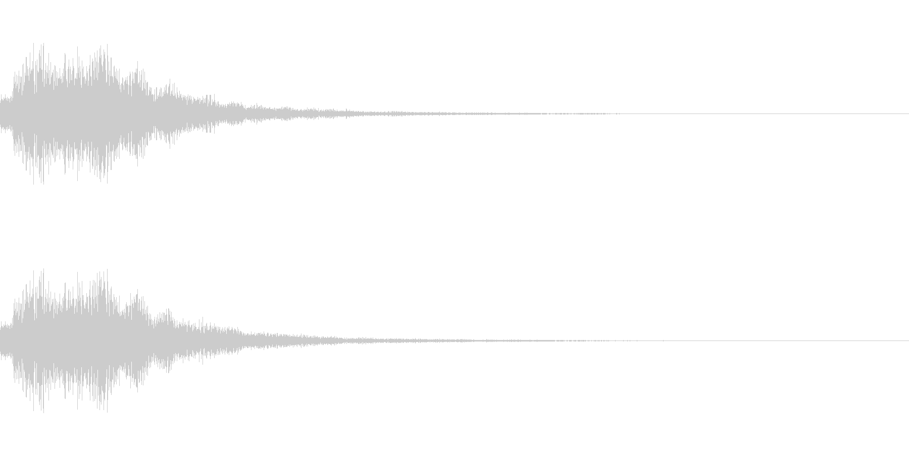 シャララン(ゲーム・アプリ等の決定音)の未再生の波形