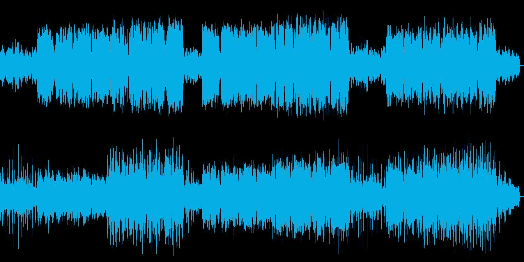 ピアノ中心の哀愁感漂うメロディアスワルツの再生済みの波形