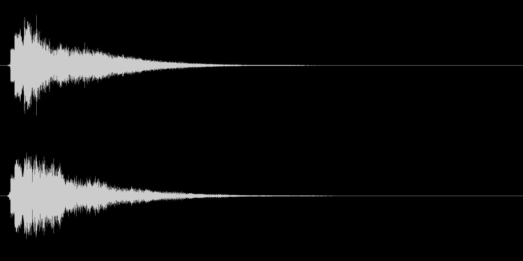 キュリーン・決定音・スキルアップ・変身の未再生の波形