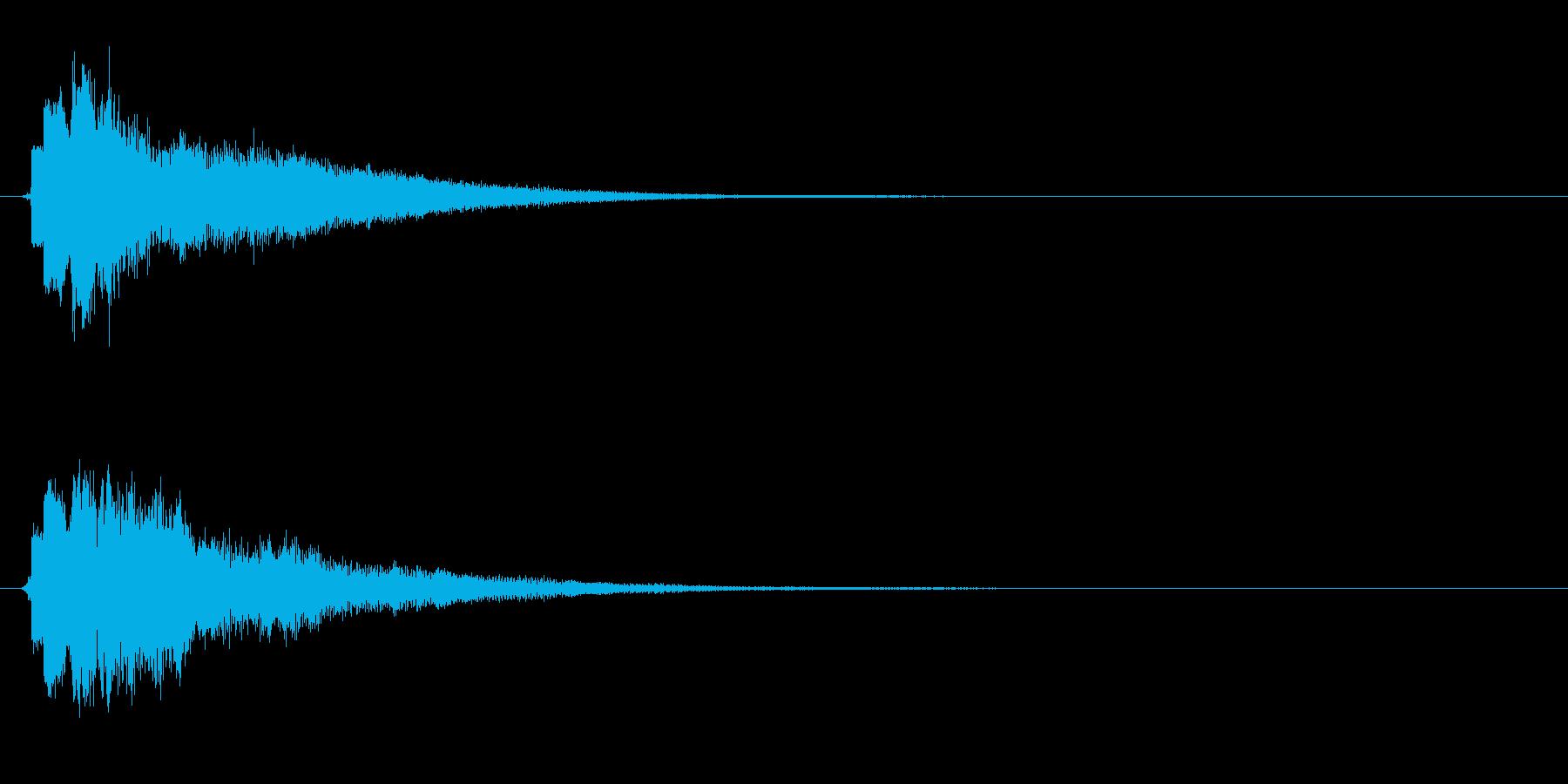 キュリーン・決定音・スキルアップ・変身の再生済みの波形