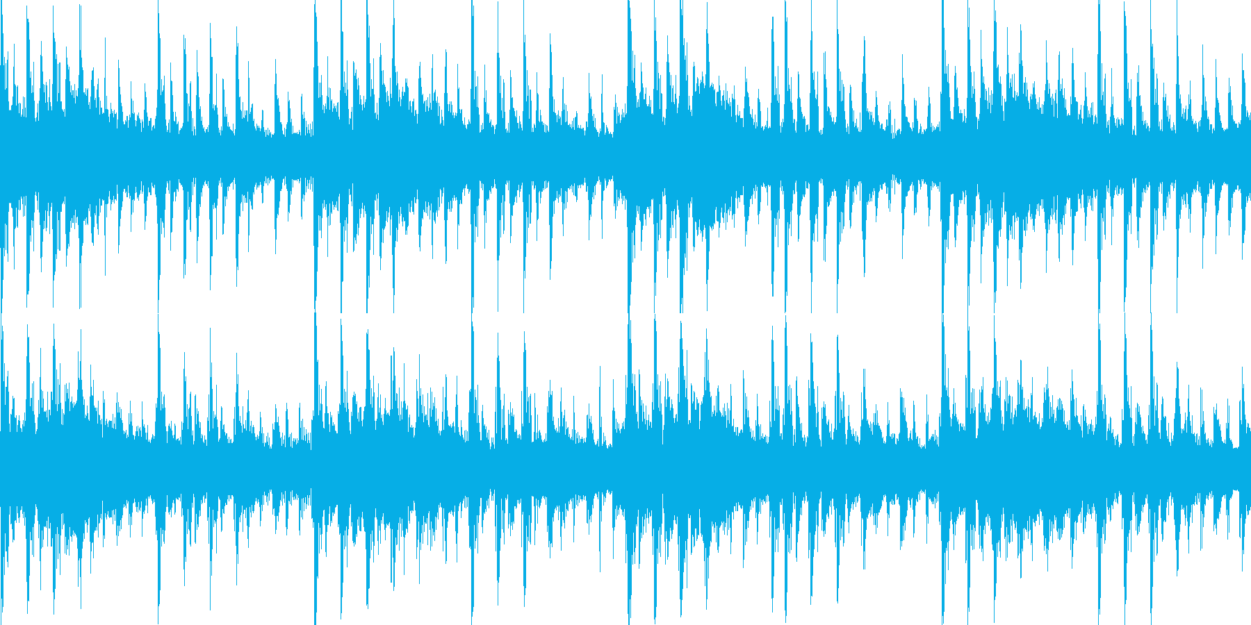 メカニカルな雰囲気のテクノジングル_lpの再生済みの波形